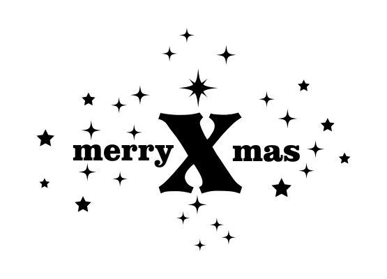 wandtattoo weihnachten merry x mas mit sternen. Black Bedroom Furniture Sets. Home Design Ideas
