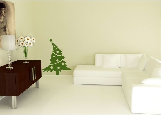 wandtattoo weihnachten weihnachtsbaum. Black Bedroom Furniture Sets. Home Design Ideas