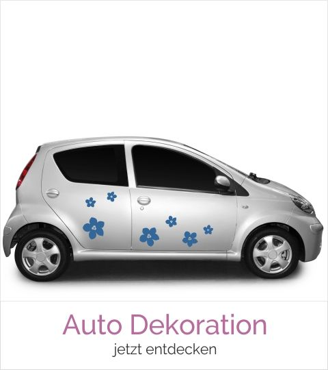 Themenwelt Auto Dekoration
