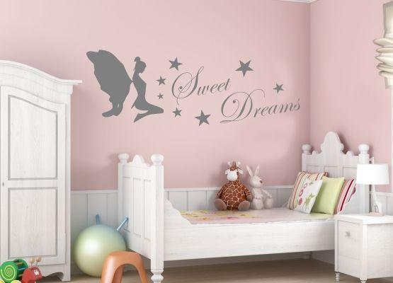 Wandtattoo Elfe Mit Sweet Dreams