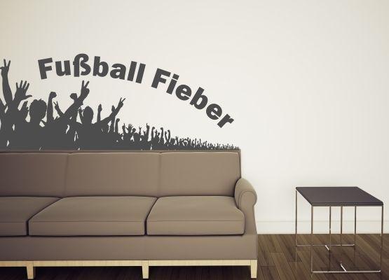 Wandtattoo Kinderzimmer Fussball Fieber