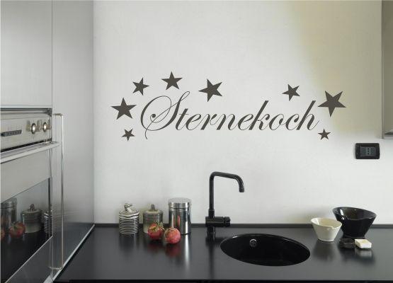 Wandtattoo Küche - Sternekoch