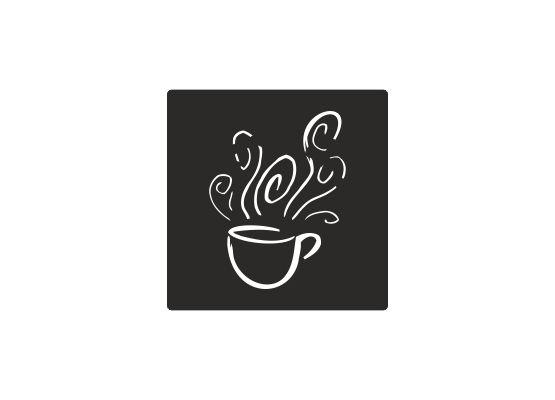 Fliesenaufkleber - Küche Kaffeetasse 03 - M