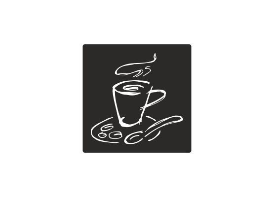 Fliesenaufkleber - Küche Kaffeetasse 04 - M