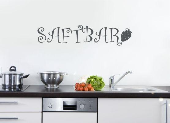 Wandtattoo Küche - Saftbar