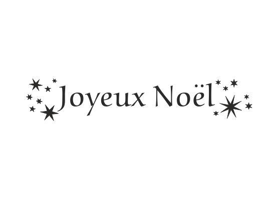 Frohe Weihnachten Schrift.Wandtattoo Frohe Weihnachten Franzosisch