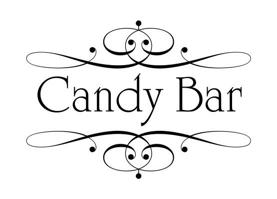 Wandtattoo Hochzeit Candy Bar Ornament 05