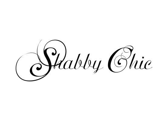Shabby Chic Aufkleber | Die schönsten Einrichtungsideen