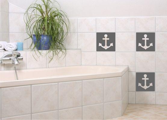 fliesenaufkleber bad anker s. Black Bedroom Furniture Sets. Home Design Ideas