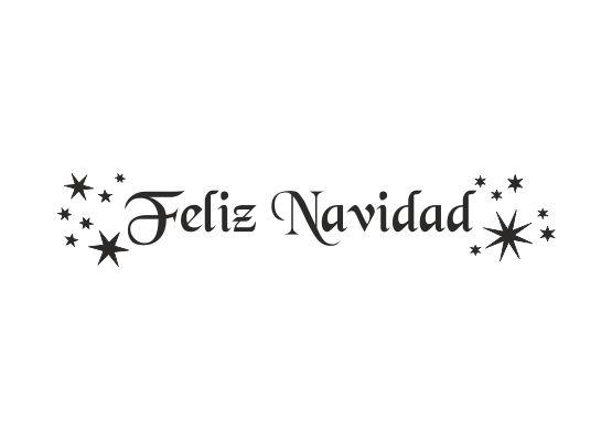 Wandtattoo frohe weihnachten spanisch for Wandtattoo weihnachten