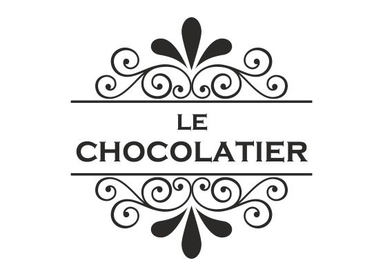 Möbeltattoo Le Chocolatier mit Ornament Shabby Chic Style - 02