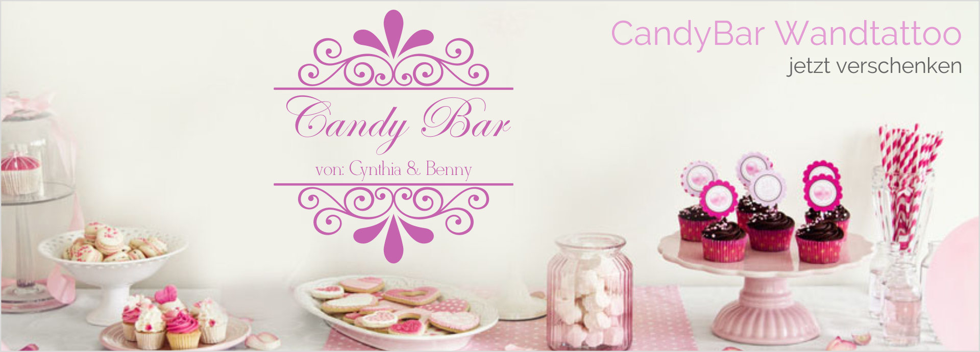 Wandtattoos Candy Bar